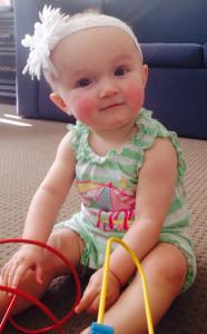 Grand daughter Scarlett